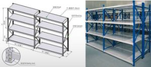 Ce Approved Medium Duty Warehouse Storage Selective Long Span Shelving pictures & photos