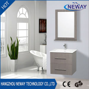 Simple Wall Mounted Modern Bathroom Furniture with Mirror pictures & photos