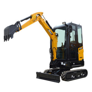 Sany Sy16c 1.6 Tons Energy Saving Mini Bagger of Hydraulic Excavator for Sale pictures & photos