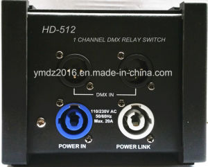 1 Channel DMX Relay Switch Pack with DMX Safety Channel pictures & photos
