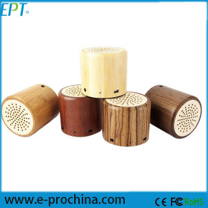 Custom Portable Mini Speaker Wooden Bluetooth Speaker pictures & photos