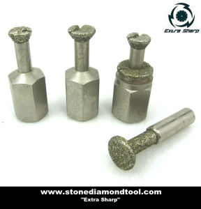 Diamond Electroplated Anchor Bit Core Drill pictures & photos