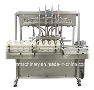 Automatic Linear Sunflower Oil Filling Packing Machine pictures & photos