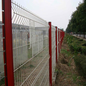 Galvanized PVC Welded Wire Mesh Fence pictures & photos