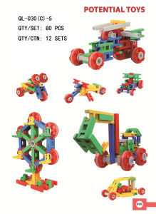 Building Blocks with Wheels