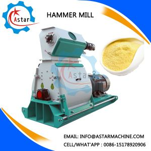 New Style Easy Operation Wood Chips Hammer Crusher pictures & photos
