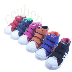 2017 New Hot Sale Children′s Comfortable Canvas Shoes pictures & photos