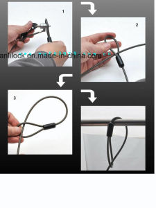 Mini Computer Lock, Laptop Lock with Master Key (AL-1000-01) pictures & photos