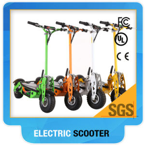 Hot-Electric Scooter Green 01-1600watt Big Wheel pictures & photos