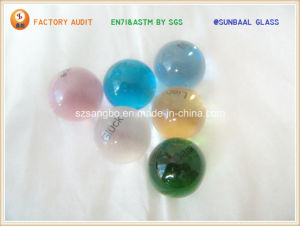 Logo Glass Ball/Logo Glass Bead pictures & photos