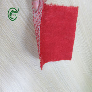 Pb2814 PP Fleeced Backing for Carpet with Red pictures & photos
