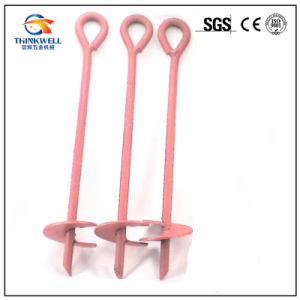 Power Coated Ground Anchor Screw Helix Auger Anchor pictures & photos