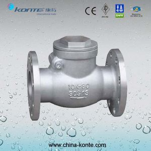 H44H-10KP JIS Swing Check Valve pictures & photos