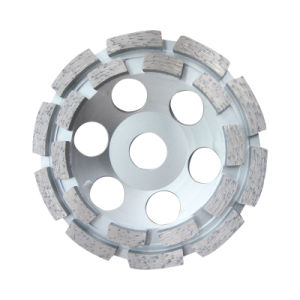 Double Row Grinding Segment Concrete Grinding Wheel pictures & photos