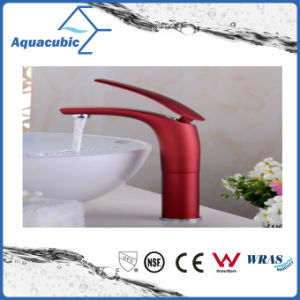 High Body Bathroom Brass Basin Faucet (AF2261-6H) pictures & photos