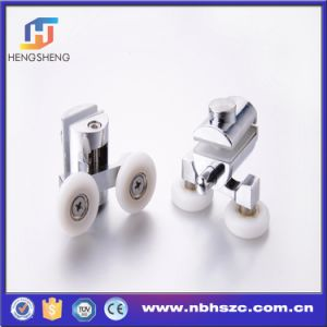 Heavy Duty Zinc Alloy Pulley for Bathroom Glass Sliding Door pictures & photos