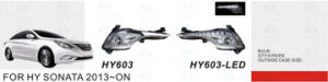 Front Fog Lamp for Hyundai Sonata 2013-on