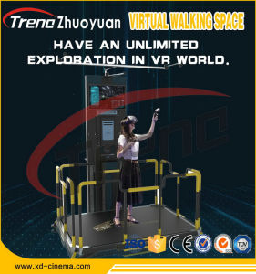 Multiplayer Walking Shooting Driving Most Attractive Vr Cinema Simulator Vr Space Walk pictures & photos