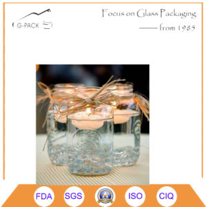 Cylinder Shape Glass Candle Holders pictures & photos