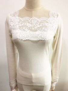 Women Fashion Clothes Long Sleeve Rayon Thermal Underwear Set pictures & photos