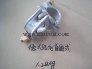 Galvanized Common German Type Forged Scaffold Swivel Coupler En74 Standard pictures & photos