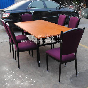 Rectangle Melamine Dining Table Ycf-T02-03 pictures & photos