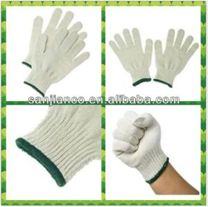 Bleached White, Natural White Glove pictures & photos