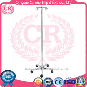 Hospital Use Stainless Steel IV Stand Infusion Stand pictures & photos
