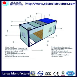 Light Steel Two Storey Plan Folding Buy Container Home pictures & photos