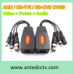 HD Coaxial UTP Balun for Video Power Audio, Ahd Tvi Cvi Cvbs Video DC Audio UTP Balun pictures & photos