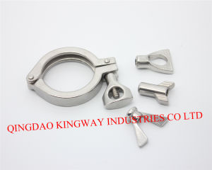 Stainless Steel Sanitary Heavy Duty Clamp.