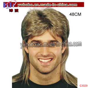 Party Afro Wig Barrister Court Gentleman Party Hair Accessory (C3032) pictures & photos