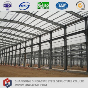 China Manufacture Prefabricated Light Steel Structure Workshop pictures & photos