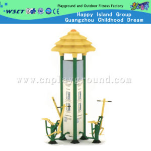 3 Station Outdoor Fitness Equipment, Outdoor Playground Fitness Equipment (A-13501) pictures & photos