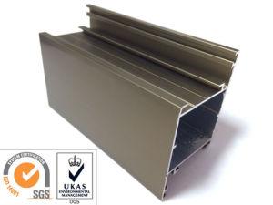 Champange Anodized Aluminum Extrusion pictures & photos