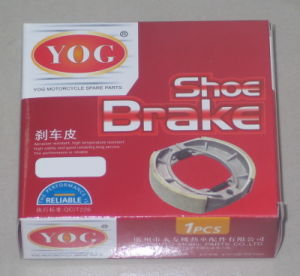 Yog Motorcycle Parts Motorcycle Brake Shoe for Suzuki Ax100 pictures & photos