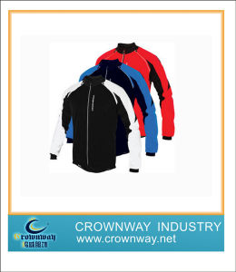 Men′s Fashion Motorcycle Windproof Jacket with Polyester Fabric pictures & photos