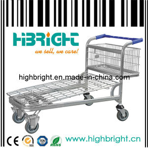 Heavy Duty Warehouse Cargo Trolley (HBE-W-10) pictures & photos