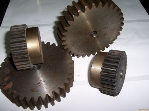 Spur Gears Stainless Forged Helical Gears Pinion Gear pictures & photos