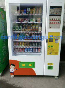 Touch Screen Vending Machine for Cooling Beverage & Snacks 10c (22SP) pictures & photos