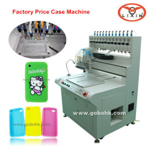 Fast Program Silicone Phone Case Molding Dripping Machine (LX-P800) pictures & photos