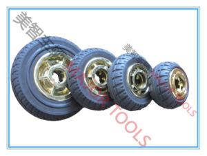 3/4/5/6 Inch Solid Rubber Toy Wheels pictures & photos