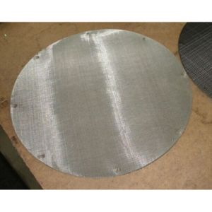 One Layer Stainless Steel Wire Mesh Filter pictures & photos