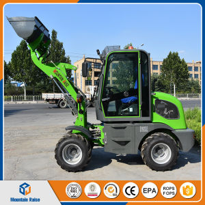 China EPA Ce Approved 800kg Mini Wheel Loader pictures & photos