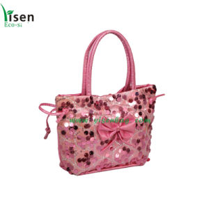 Women Paillette Small Tote Bag (YSLB00-050) pictures & photos