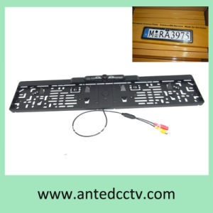 European Car License Plate Frame Car Rearview Camera with Night Vision pictures & photos