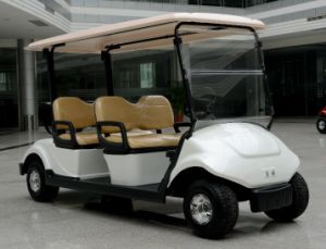 Cheap 4 Seater Electric Golf Cart with CE Certificate From Dongfeng Motor for Sale pictures & photos