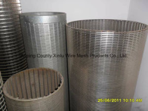Johnson Stainless Steel Water Well Screen, Wire Wrapped Continuous Slot Screen pictures & photos