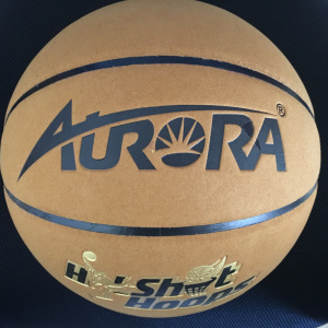 Imitation Cowhide Leather Laminated Basketball pictures & photos