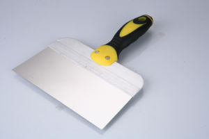 Flexible DIY TPR Handle Putty Knife pictures & photos